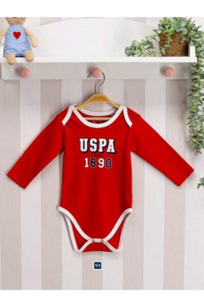 Unisex Bebek Kırmızı Lisanslı Badi Zıbın Usb096