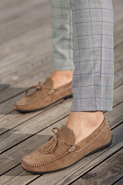 D950 Günlük Hakiki Deri Ortopedik Baba Ayakkabısı