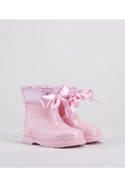 Kız Çocuk Pembe Yağmur Çizmesi