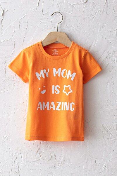 Erkek Bebek Turuncu Fkl T-Shirt