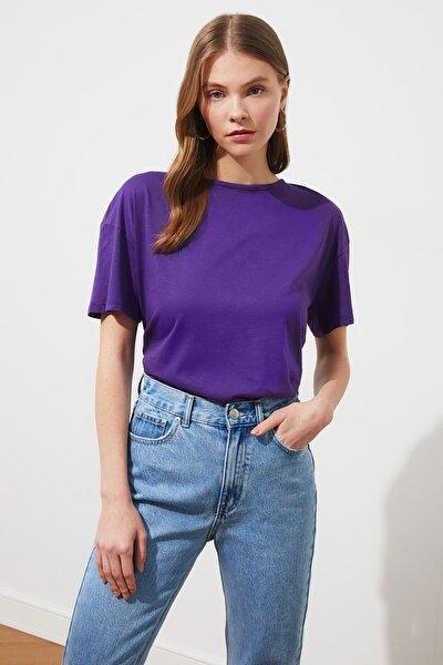 Mor Örme Bluz TWOSS21BZ1078