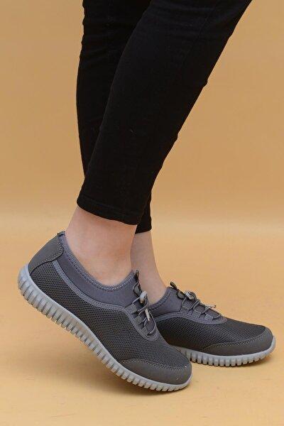 Kadın Gri Günlük Spor Ayakkabı 1042