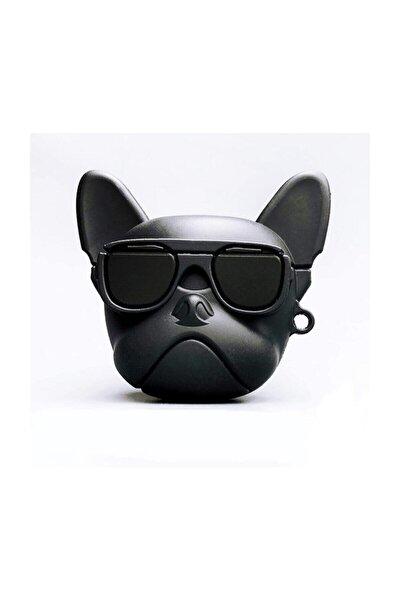 Airpods 1 ve 2 Uyumlu French Bulldog Köpek Koruyucu Kılıf
