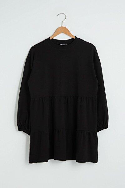 Kadın Yeni Siyah Tunik