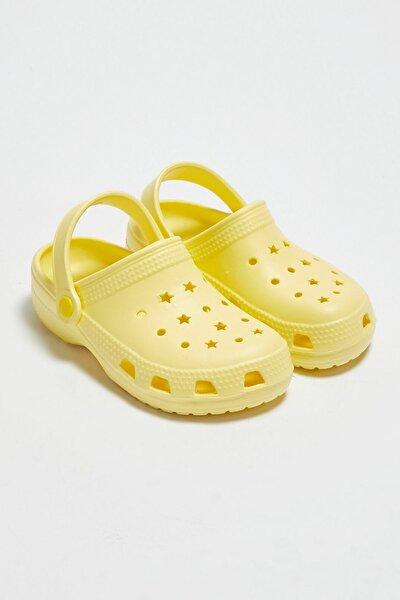 Kız Çocuk Sarı Crk Sandalet