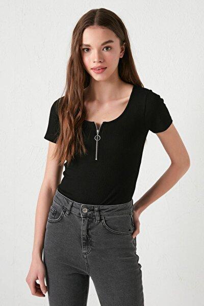 Kadın Yeni Siyah Bluz