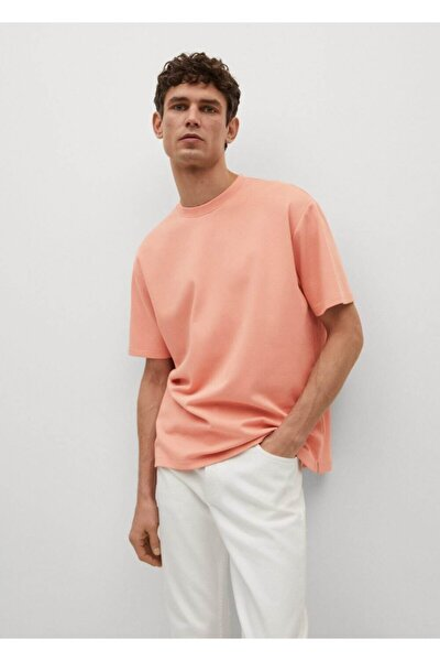 Erkek Pembe T-shirt