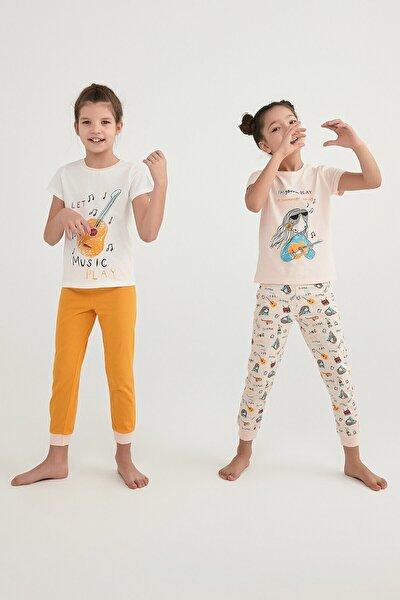 Kız Çocuk Summer Song  Pijama Takımı