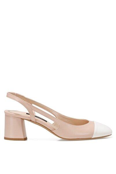 SENDAR Pudra Kadın Klasik Topuklu Ayakkabı 100526629