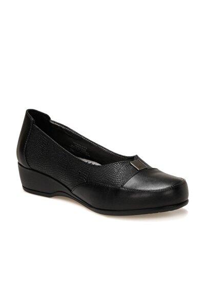 161627.Z1FX Siyah Kadın Loafer Ayakkabı 100980532