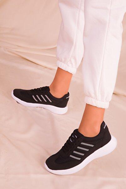 Siyah Kadın Sneaker 14552