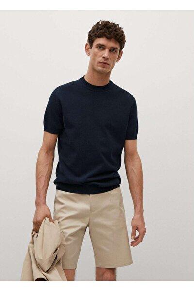 Erkek Pamuk Dokuma  T-Shirt