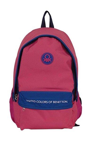 United Colors Of 96065 Okul Çantası Pembe - Lacivert