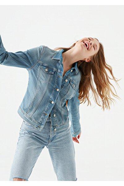 Kadın Daisy Vintage Açık  Jean Ceket 1113623511