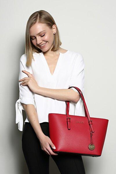Kadın Kırmızı Omuz Çantası Tan Mc212101180