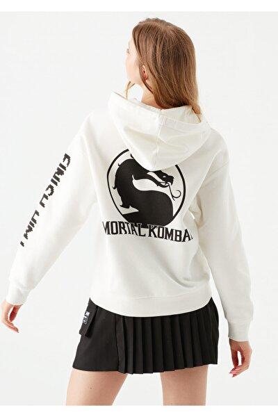 Mortal Kombat Baskılı Sweatshirt