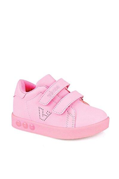 313.B19K.100 Pembe Kız Çocuk Yürüyüş Ayakkabısı 100579005
