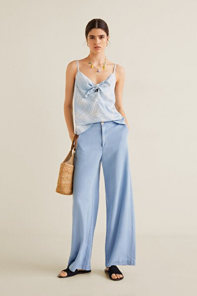 Kadın Açık/Pastel Mavi Bluz 43039077
