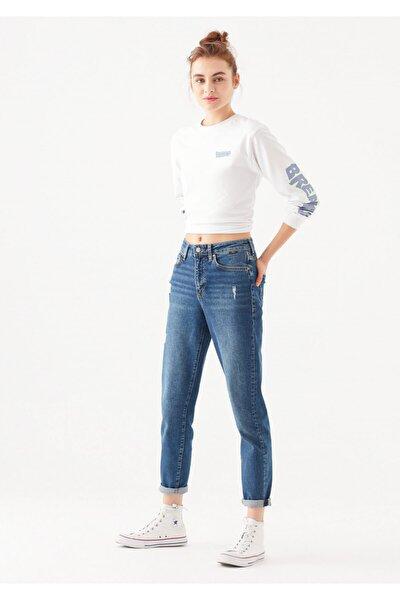 Kadın Cindy Vintage Jean Pantolon 100277-21870