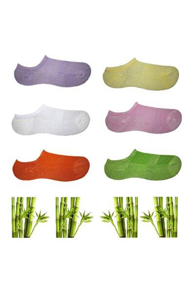 Dikişsiz Sneakers Bambu Görünmez Kadın Çorap | 6 Çift