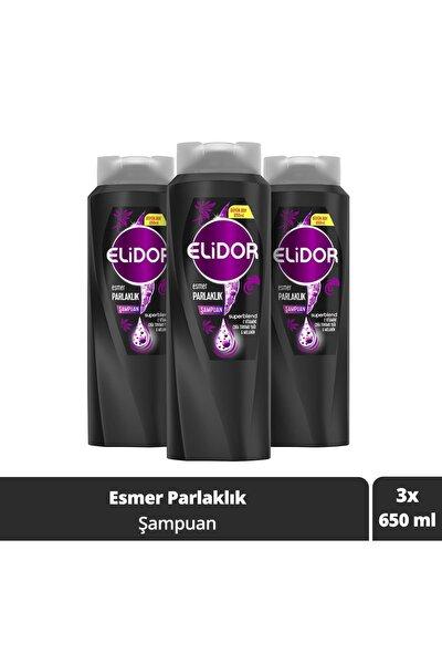 Esmer Parlaklık Saç Bakım Şampuanı 650 ml X3