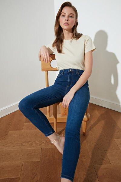 Mavi İncelten Etki Yüksek Bel Skinny Jeans TWOSS21JE0471