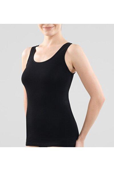 Kadın Atlet Essential 1950 - Siyah