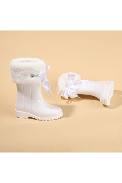 W10239 Campera Charol Soft Kız Çocuk Su Geçirmez Yağmur Kar Çizmesi