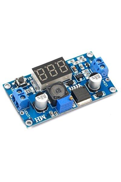 Voltmetreli Lm2596 Ayarlı Modül Ayarlanabilir 3a Güç Kaynağı