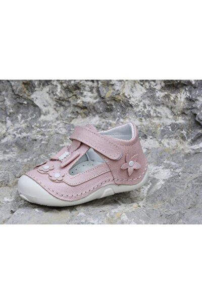 Kız Bebek Pudra Tam Ortopedik Kız Ilk Adım Günlük Ayakkabı