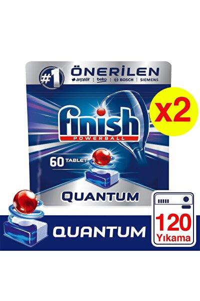 Quantum 120 Tablet Bulaşık Makinesi Deterjanı (60x2)