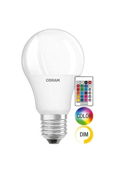 Led Uzaktan Kumandalı Renk Değiştiren 9w 806 Lm E27 Ampul Beyaz  Sarı
