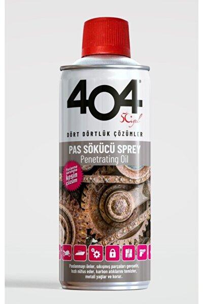404 Pas Sökücü 40+ Koruyucu Yağlayıcı Sprey 400 ml