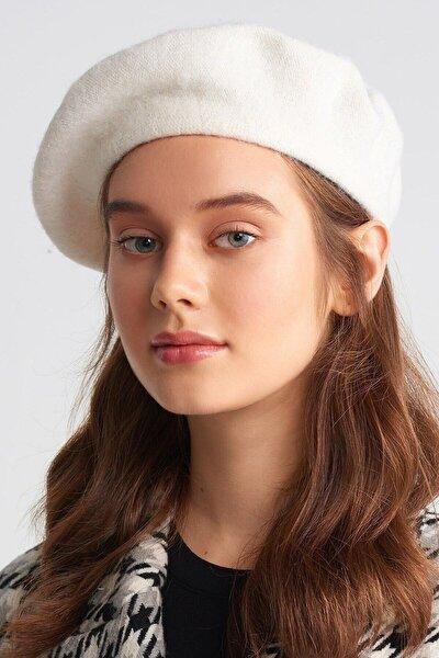 Fransız Ressam Ekru Bere Şapka