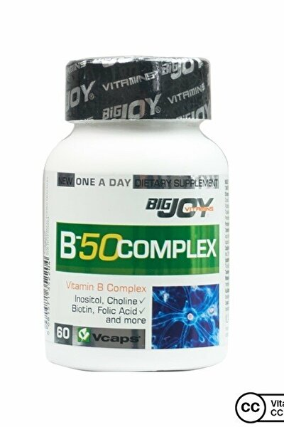 Vitamins B-50 Complex 60 Bitkisel Kapsül