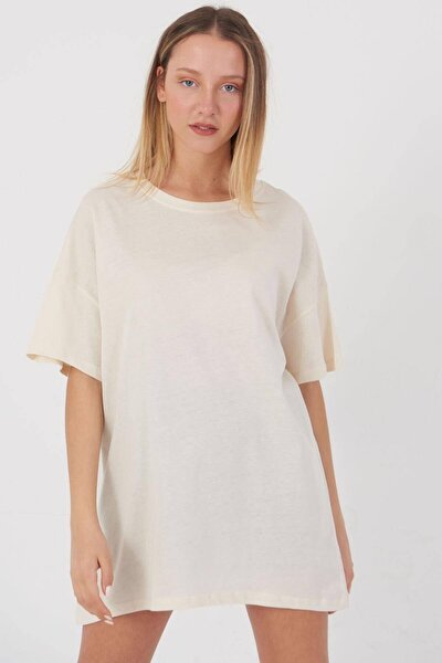 Kadın Taş Basic T-Shirt P0337 - T11 Adx-0000021644