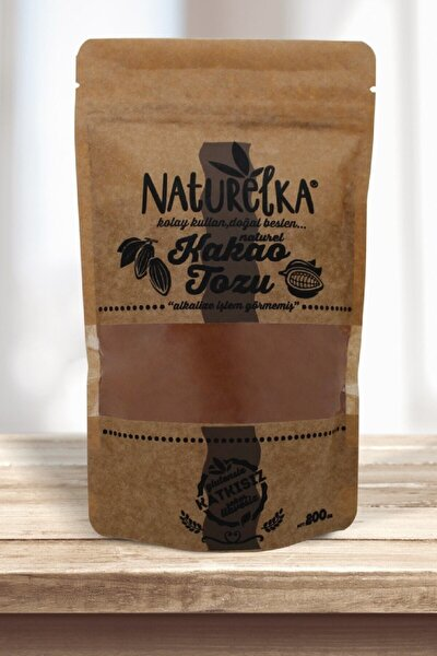 Alkali İşlem Görmemiş Kakao Tozu 200 gr  Yeni Ürün
