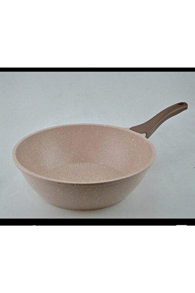Döküm Granit Wok Tava 28 cm