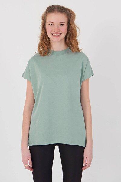 Kadın Mint Basic T-Shirt P0769 - U13 Adx-0000020933
