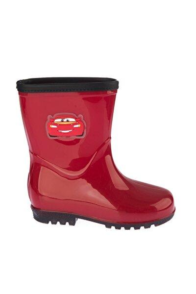 97256 Kırmızı Siyah Erkek Çocuk Yağmur Çizmesi 100394284