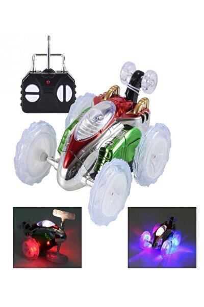 Dasher Uzaktan Kumandalı Takla Atan Işıklı Çılgın Akrobat Oyuncak Araba