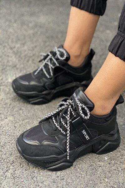 Kadın Siyah Sneakers