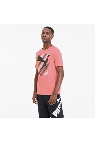 Erkek Spor T-Shirt - Cat Brand GRAPHIC - 58190914