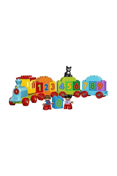 ® Duplo 10847 Sayı Treni Okul Öncesi Çocuk Için Öğretici Oyuncak Yapım Seti
