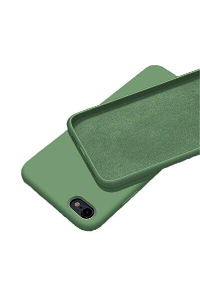 Iphone 7 / 8 Içi Kadife Lansman Silikon Kılıf Kırılmaz Cam Hediye