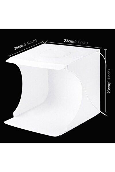 Pu5022 Photo Box 24x23x23 Led Işıklı Ürün Çekim Çadırı
