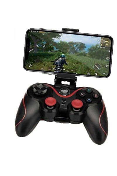 S6 Pubg Gamer Bluetooth Oyun Konsolu Mobil Oyun Kolu Siyah Renk