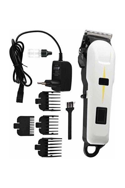 Dijital Göstergeli Professional Model Ultra Güçlü Saç Sakal Tıraş Makinesi Kablolu Kablosuz Kullanım