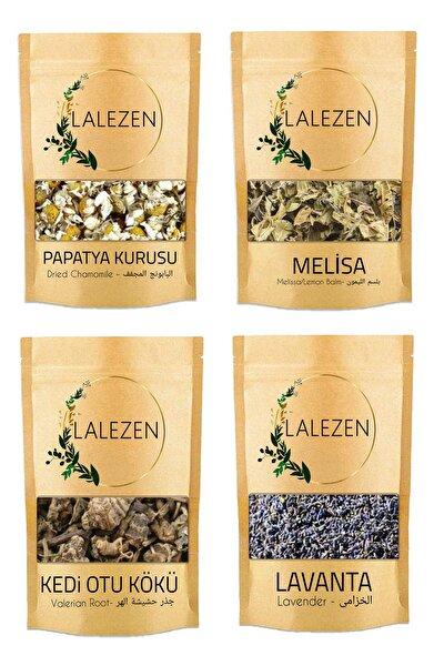 Rahatlatıcı Çay/ Relax Tea - 100 Gr Melisa - 100 Gr Kediotu Kökü - 100 Gr Lavanta - 100 Gr Papatya