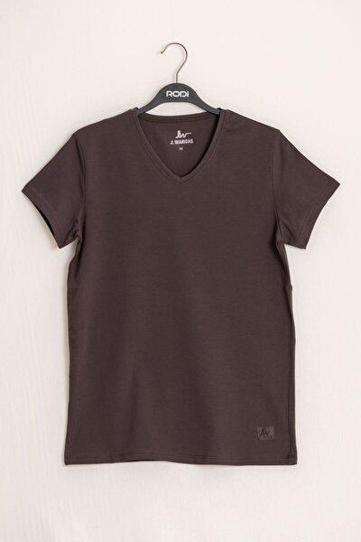 Rodi Ty16ye274641 Erkek V Yaka Penye T-shirt